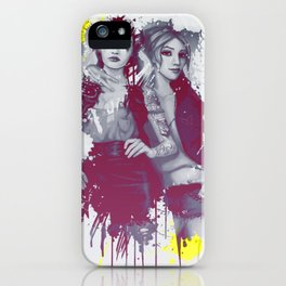 two girls iPhone Case