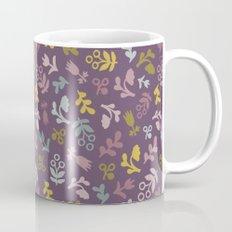 Ditsy Flowers in purple Mug