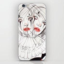 Carnival Clowns iPhone Skin