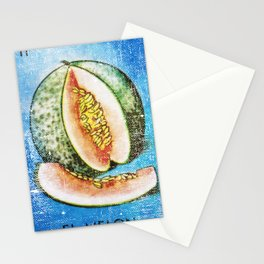 El Melon Mexican Loteria Card Stationery Cards