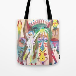 Orgy Tote Bag