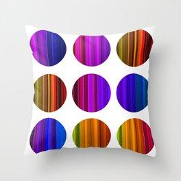 CoLoR 3 Throw Pillow