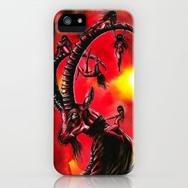 Bitches keep summon me! iPhone Case