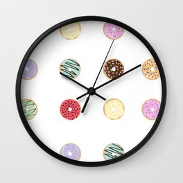 Donut Worry Wall Clock