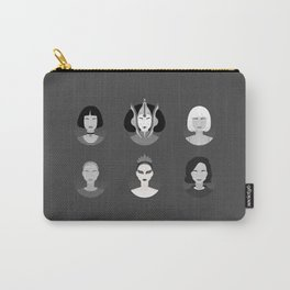 Natalie B&W Carry-All Pouch