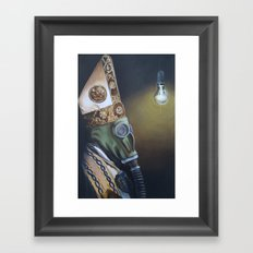 FALL  OUT  POPE Framed Art Print