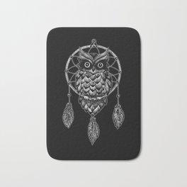 Dream Catcher Owl Bath Mat