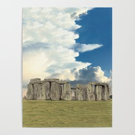 Stonehenge VI Poster