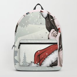 Christmas girl Backpack