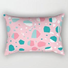 Airhead - memphis throwback retro vintage pastel pink palm springs socal california dreamer pop art Rectangular Pillow