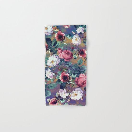 RPE Seamless Floral IV Hand & Bath Towel