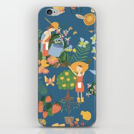 Gardening Party iPhone Skin