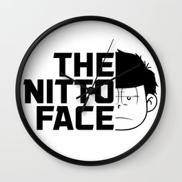 The nitto face Wall Clock