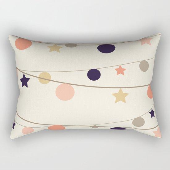 Christmas Garlands Rectangular Pillow
