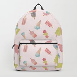 Summer Popsicles Pattern Backpack