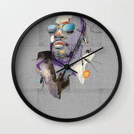Isaac Hayes Wall Clock