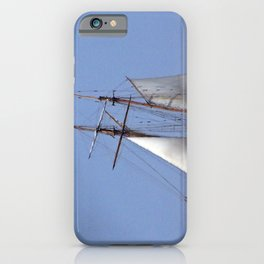 Tall ship Sailing the mighty Saint-Lawrence iPhone Case