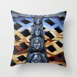 Totem Throw Pillow