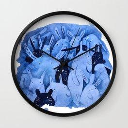 -BunBuns- Wall Clock