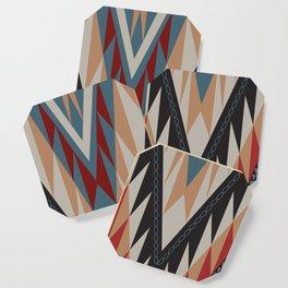 American Native Pattern No. 21 Coaster