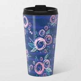 Swirly Rose Travel Mug