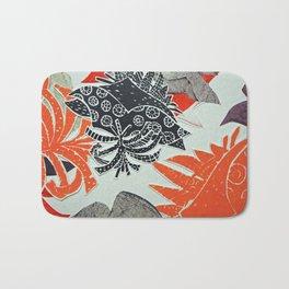 Coral Coastal Bath Mat