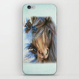 Pretty Blue  iPhone Skin