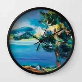 By the Lake Wall Clock