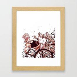 jean pierre polnareff Framed Art Print