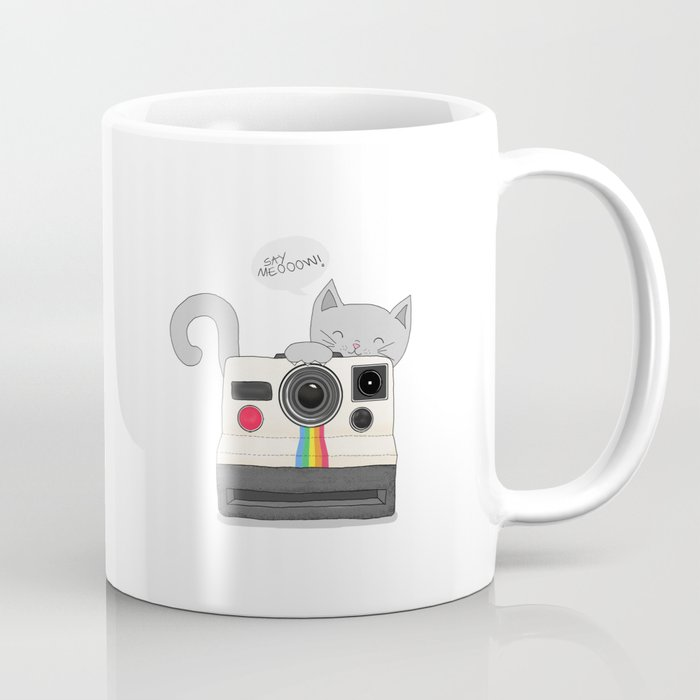 say meooow! Coffee Mug