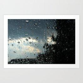 Raindrops in Colorado Art Print