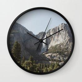 Yosemite Valley Wall Clock