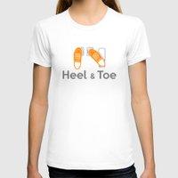 subaru T-shirts featuring Heel & Toe by Vehicle