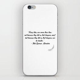 Quote 6 iPhone Skin