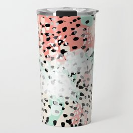 Phoebe - abstract painting minimal gender neutral trendy nursery decor home office art Travel Mug