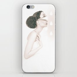 Dancing In The Rain - soft version iPhone Skin