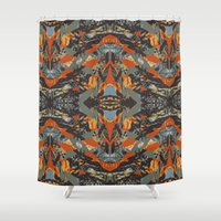 beast Shower Curtains featuring BEAST by Mercedes Olondriz