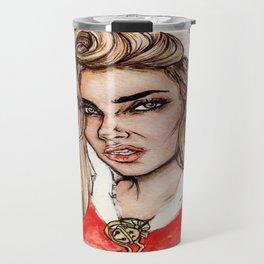Cara Santa🎅🎄 Travel Mug