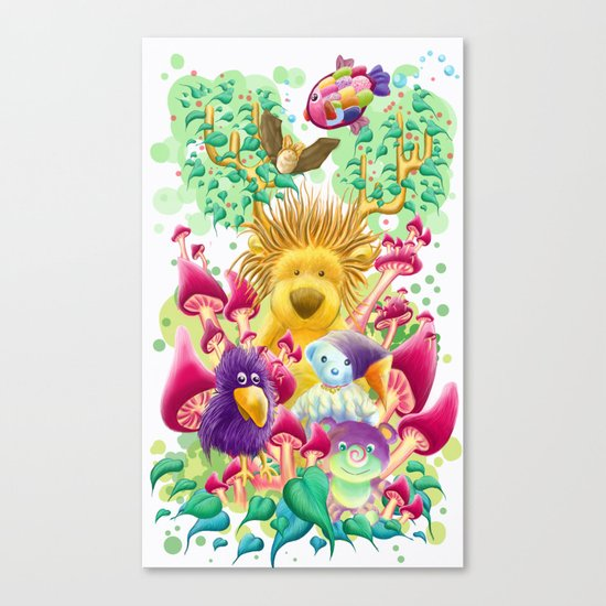 The guardian of nature Canvas Print
