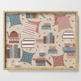 Hygge Reading Things Serving Tray