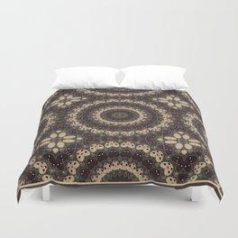 Mandala Arabica . Duvet Cover