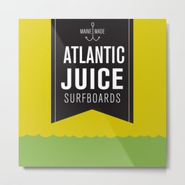 Atlantic Juice Metal Print