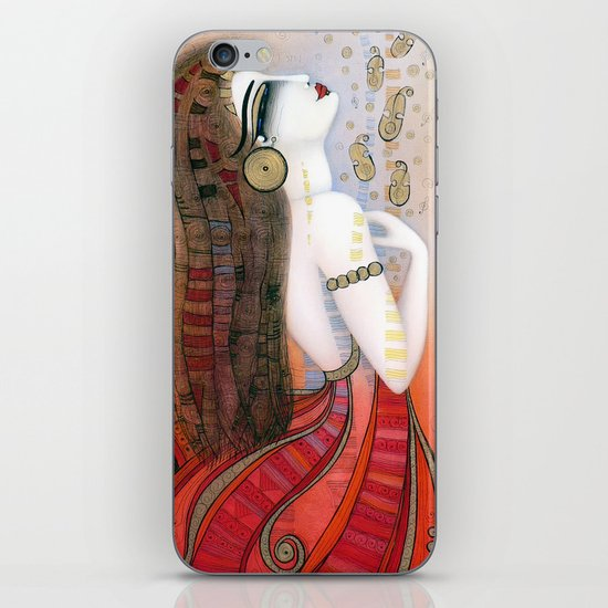 SOUL VIOLINS iPhone & iPod Skin