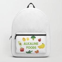 Alkaline Foods Healthy Diet Backpack