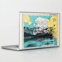 alaska Laptop & iPad Skins featuring Alaska by Ursula Rodgers