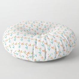 Birds Humming Floor Pillow