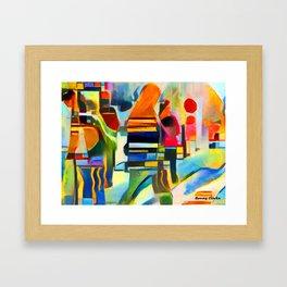 City Life I Framed Art Print