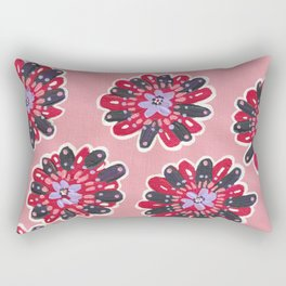 Mystic Rose Rectangular Pillow