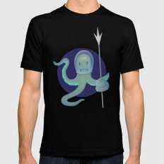 Lil Alien - Squiddy  2X-LARGE Black Mens Fitted Tee