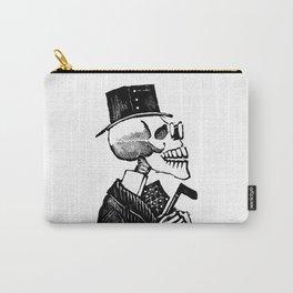 Calavera Man | Skeleton Man | Day of the Dead | Dia de los Muertos | Skulls and Skeletons | Vintage Skeletons | Posada | Carry-All Pouch